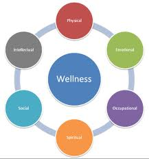 Wellness wheel (courtesy of Marquette.edu)