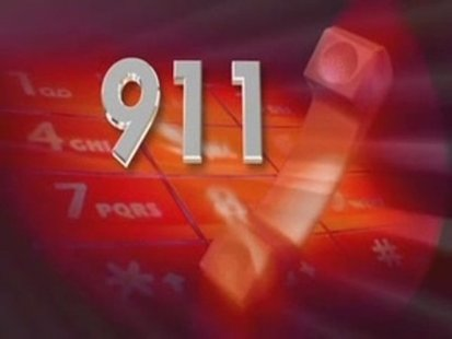 911 call graphic