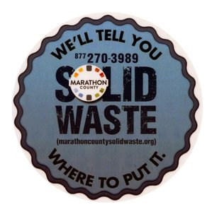 The new logo for the Marathon County Solid Waste Department