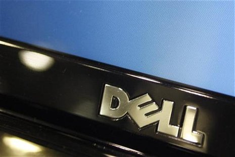 A Dell computer logo is seen on a laptop at Best Buy in Phoenix, Arizona, February 18, 2010. REUTERS/Joshua Lott