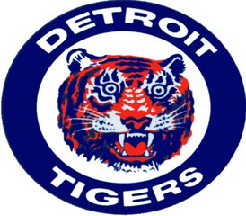 Detroit Tigers logo vintage.