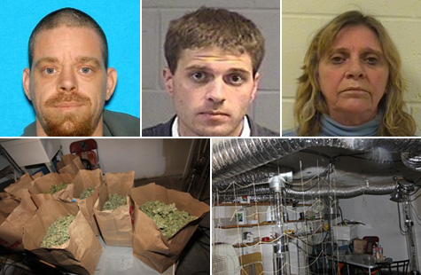 Three suspects face charges in a Portland, Oregon drug bust