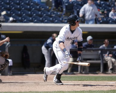 West Michigan Whitecaps 1B Aaron Westlake (photo courtesy West Michigan Whitecaps)
