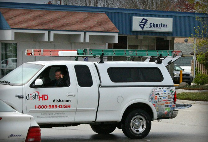 Even the Dish Network guy had stuff to E-Cycle at Charter Communications!