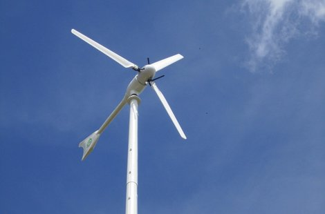 Northcentral Technical College wind turbine