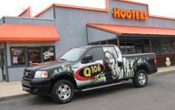 Q106 at Hooter's (5-4-12): Cover Image