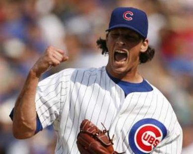 Chicago Cubs pitcher Jeff Samardzija REUTERS/John Gress