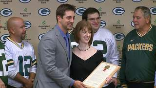 "An official resolution recognizes December 12, 2012 as ""Aaron Rodgers Day."" (courtesy of FOX 11)."