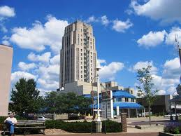 Heritage Tower in downtown Battle Creek