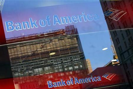 A Bank of America branch office is seen in New York September 18, 2008.  Credit: Reuters/Eric Thayer
