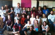 Craig and Justin Bookworm Reading Contest Winners- Mrs. Miskovich's 5th Graders: Cover Image