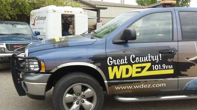 The WDEZ-mobile is still looking sharp!  ~TS