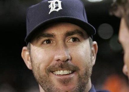 Justin Verlander struck out 8 A's in 7 innings Sunday. Detroit defeated Oakland 3-1