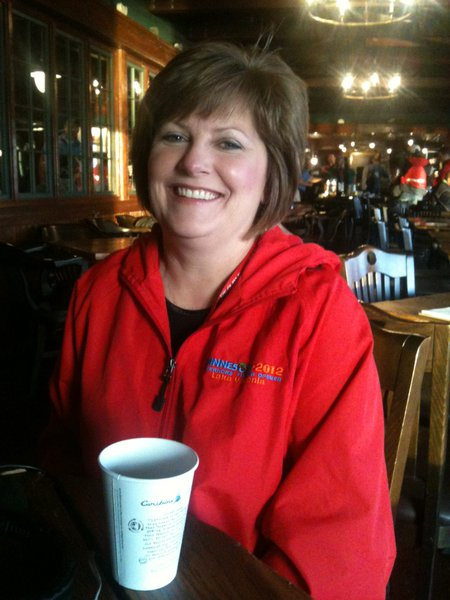 Waconia Chamber President Kellie Sites- big fan of the Early Morning Show!