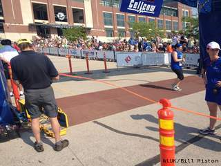 Cellcom Green Bay Marathon on May 20, 2012. (courtesy of FOX 11)