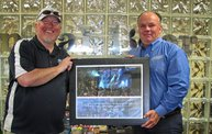 95-5 WIFC's Totally 80's for a cause plaque presentation 2012 1