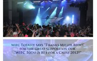 95-5 WIFC's Totally 80's for a cause plaque presentation 2012 2