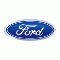 The famous classic Ford Blue Oval, now the sole property of the Ford Motor Company.