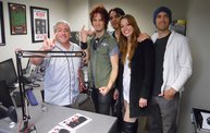 Halestorm, Godsmack & Staind @ Q106 Battle Creek (5-9-12) 1