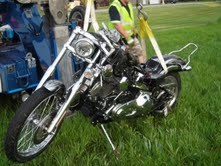 Motorcycle crash leaves two injured in Ashwaubenon on Memorial Day, May 28, 2012. (courtesy of Ashwaubenon Public Safety)