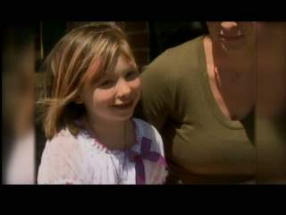 7-year-old Aryanna Schneeberg back home after being shot with arrow in Campbellsport on May 21. (courtesy of FOX 11).