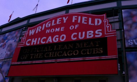 Wrigley Field - Home of the Chicago Cubs. Photo courtesy of Carolyn Binder