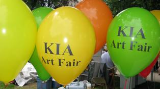 The Bronson Park Art Fair sponsored by the Kalamazoo Institute of Arts is one of the oldest Juries air fairs in the country.