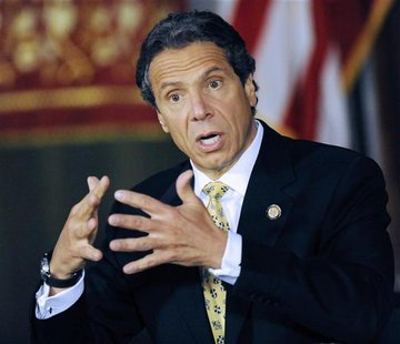 New York Governor Andrew M. Cuomo announced legislation that would make penalties for private and public possession of small amounts of mari