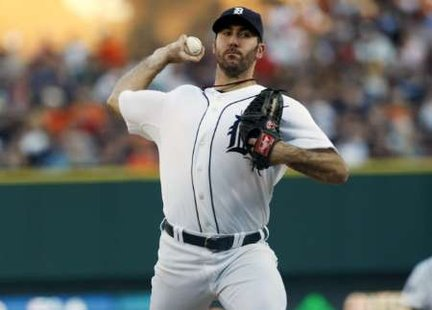 Justin Verlander dropped his third consecutive start Sunday in Detroit's 5-1 loss to New York
