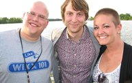 Studio 101 With Eric Hutchinson on the Foxy Lady II on 6/11/12 18