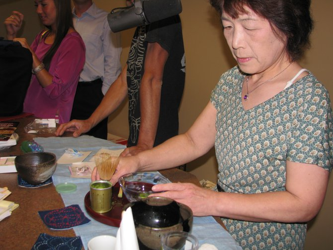 The mystery green tea ceremony