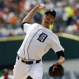 Detroit Tigers starting pitcher Doug Fister  REUTERS/Rebecca Cook
