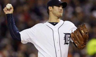 Tigers starting pitcher Rick Porcello