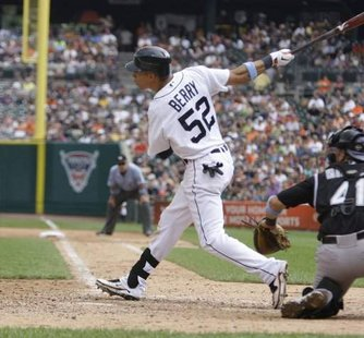 Detroit Tigers outfielder Quintin Berry