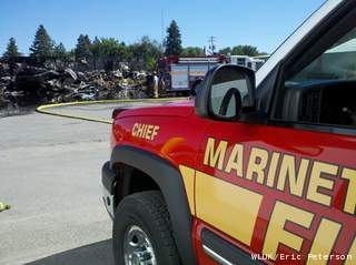 Marinette Fire Dept. (Fox 11)