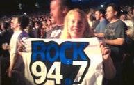Our logo made it to the Foo Fighters show at SummerFest! 3