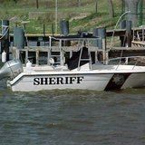 Ottawa Co. Sheriff's Dept. Patrol Boat (photo courtesy Ottawa Co. Sheriff's Dept.)