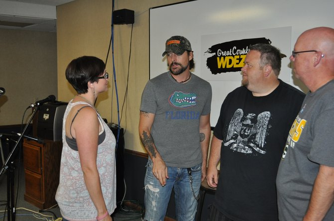 WDEZ Chatting it up with Rick Monroe