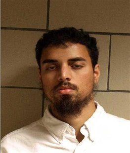 Booking mug of Rezwan Ferdaus obtained from U.S. Department of Justice October 28, 2011. REUTERS/Handout
