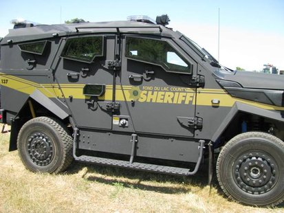 Fond du Lac Sheriff Department's Tactical Protector Vehicle