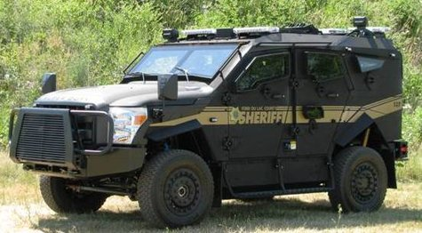 Fond du Lac Sheriff Department's Tactical Protector Vehicle (2)