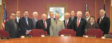 The Allegan County Board of Commissioners (photo courtesy Allegan County)