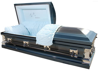 Casket (courtesy of Northwoods Casket Company)
