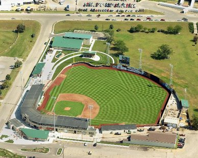 Ashford University Field, home of the Clinton LumberKings (photo courtesy Clinton Lumberkings)
