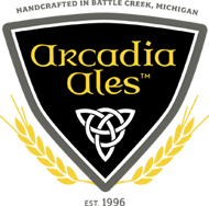 "Arcadia brewery and brew pub planned for river front, soon to read ""Handcrafted in Kalamazoo""."