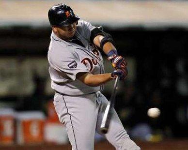 Detroit Tigers shortstop Jhonny Peralta. REUTERS/Beck Diefenbach