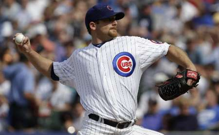 Ryan Dempster in Chicago, June 18, 2011. Courtesy of Reuters.
