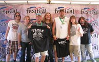 Repost :: Tesla Meet-Greet at Rock USA 22