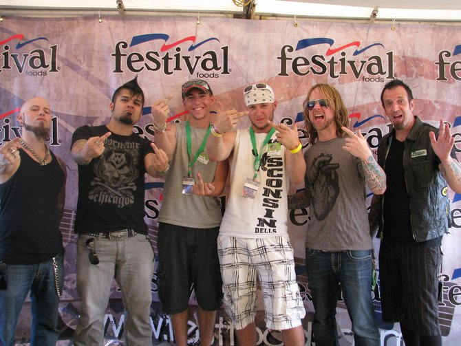 Drowning Pool Meet and Greet