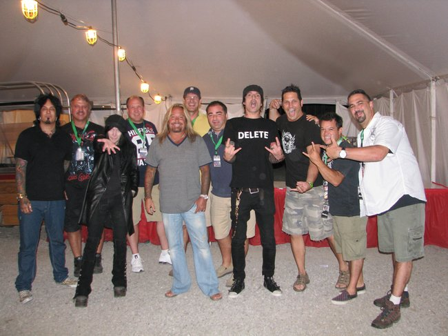 Motley Crue Meet and Greet